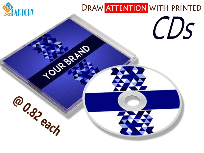 CD Printing service from the experts in USA