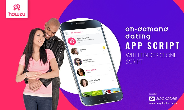 Available Now Dating App Clone Script like Tinder - Howzu