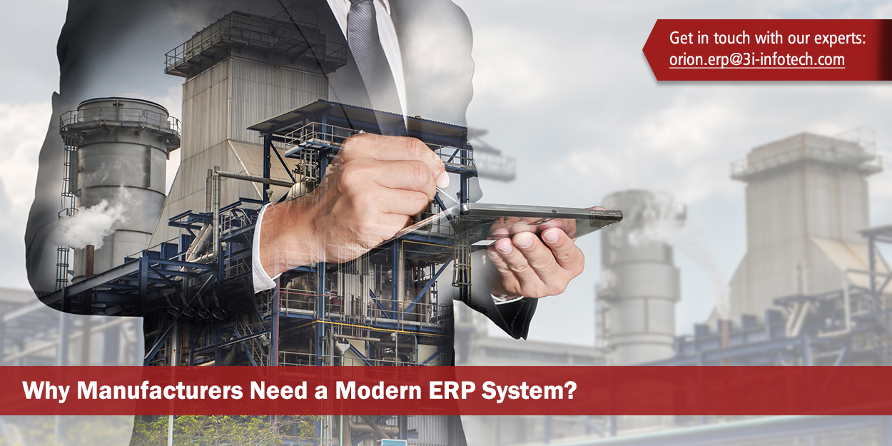 Orion ERP Software for Manufacturing | 3i Infotech