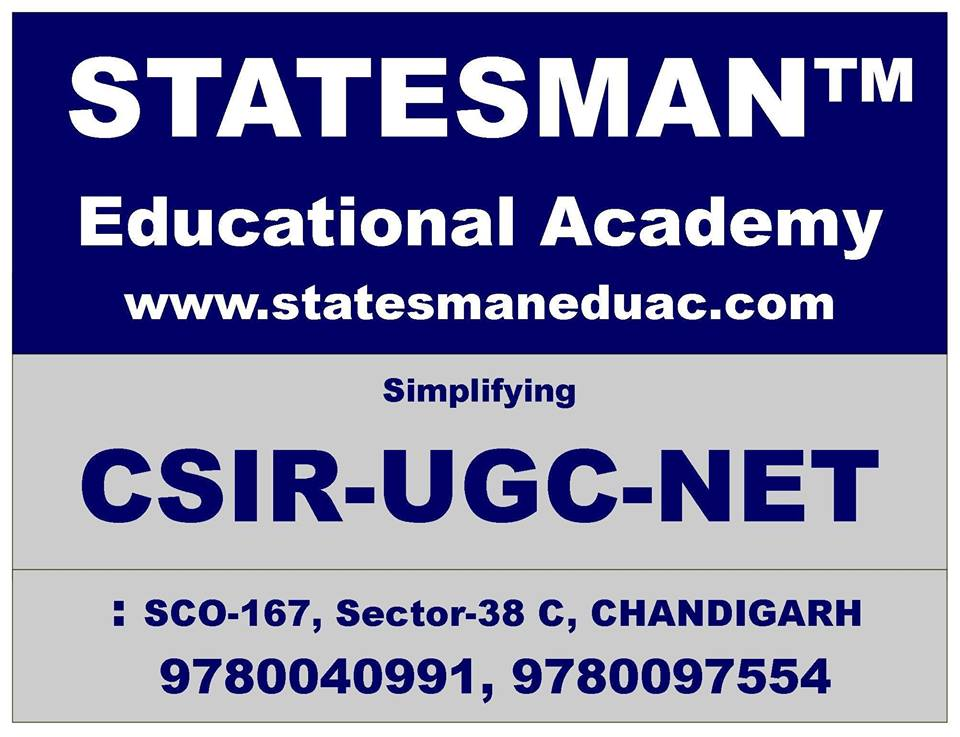 Join Statesman Academy For CSIR NET Physics Coaching in Chandigarh