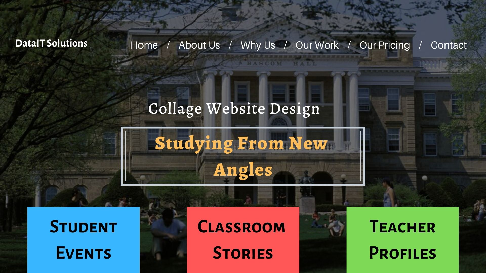 College Website Design