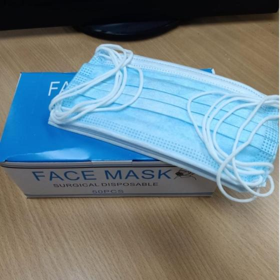 3ply Non Woven Medical Face Masks, Earloop Surgical Mask For Sale
